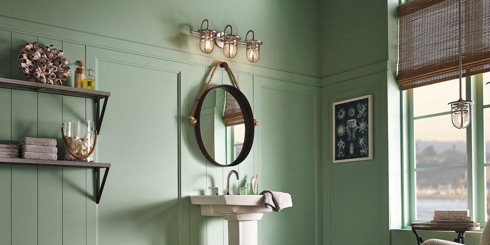 Bathroom Lighting | Vanity Lights, Chandeliers | Lakeland Lighting