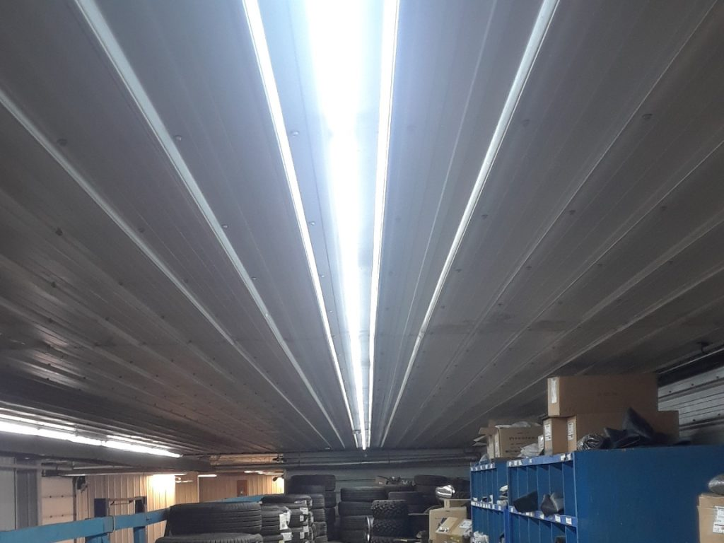 Storage Lighting Installation Project